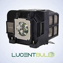 for Epson ELPLP74 / V13H010L74 Lamp Cartridge by LucentBulb fits EB-1930 EB-1935 EB-1940W EB-1945W EB-1950 EB-1955 EB-1960 EB-1965 H473A H474A H491A Powerlite 1930 1940W