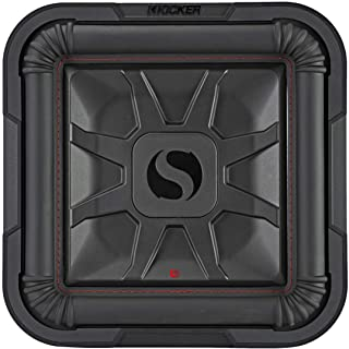 "Kicker 46L7T84 Car Audio L7T Shallow Mount 8"" Sub Square L7 Subwoofer L7T84"