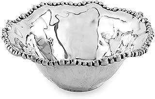 Beatriz Ball Small Organic Pearl Nova Flirty Bowl, Metallic
