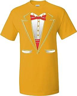 ZoDong Adult Novelty Wedding Tuxedo Funny Novelty Parody T-Shirt