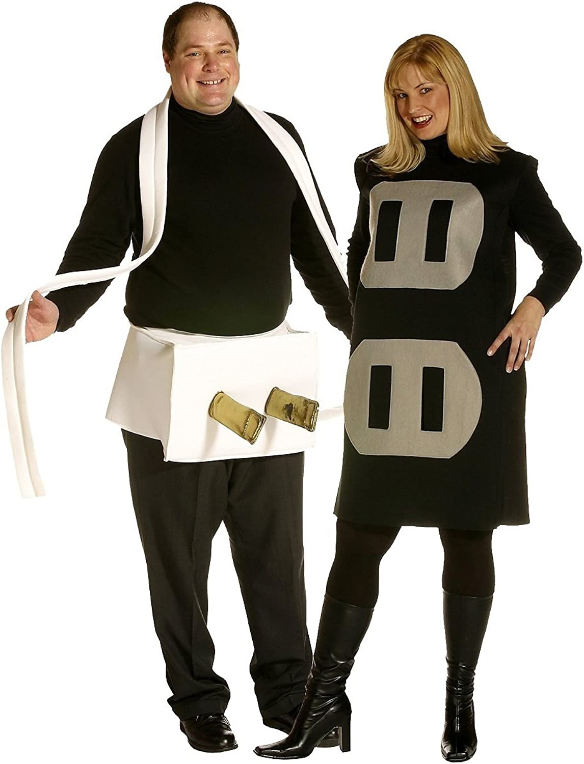 Socket and Switch costume for couples