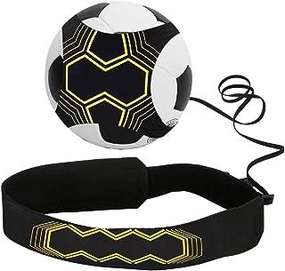 Cinturón de Entrenamiento de fútbol, Fútbol/Voleibol/Rugby,Kick Trainer Entrenamiento de fútbol Ayuda práctica en Solitario de Manos Libres para Mejorar Las Habilidades de fútbol para niños Adultos.