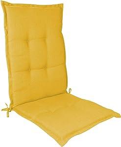 Hulzogul High Back Cushion, Garden Chair Cushion Non-Slip Sponge Core Filling Cushion for Rocking Chair Cushions Patio Chair Cushions(Without Chair)