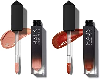 HAUS LABORATORIES Limited-Time: Le Riot Lip Gloss Duo, Le Riot Gloss Duo, Laced