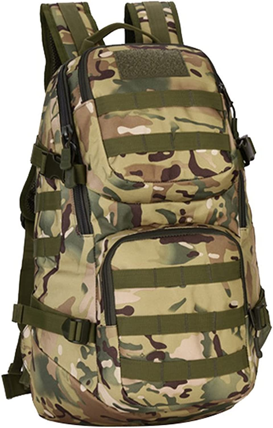 JINying Heavy Duty Lightweight Expandable 35L Outdoor Military Tactical MOLLE Assault Backpack