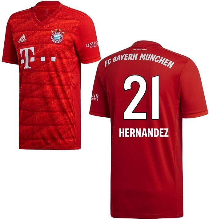 Adidas - Maglia del FC Bayern Monaco, per partite in casa, 2019 ...
