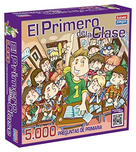 Falomir Juego de Mesa Educativo, 5000 Preguntas, multicolor, El primero de la...