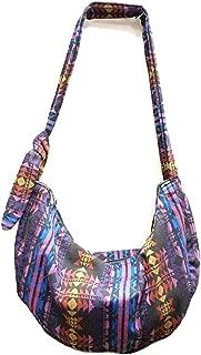 KARRESLY Women's Sling Crossbody Bag Thai Top Handmade Shoulder Bag with Adjustable Strap