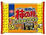 亀田の柿の種たっぷりピーナッツ16袋詰 560g