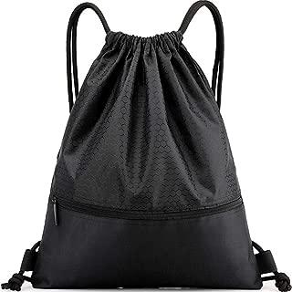 Drawstring Backpack Gymbag Stringbag for Yoga Sport Traveling Running Basketball Running 3 Colors