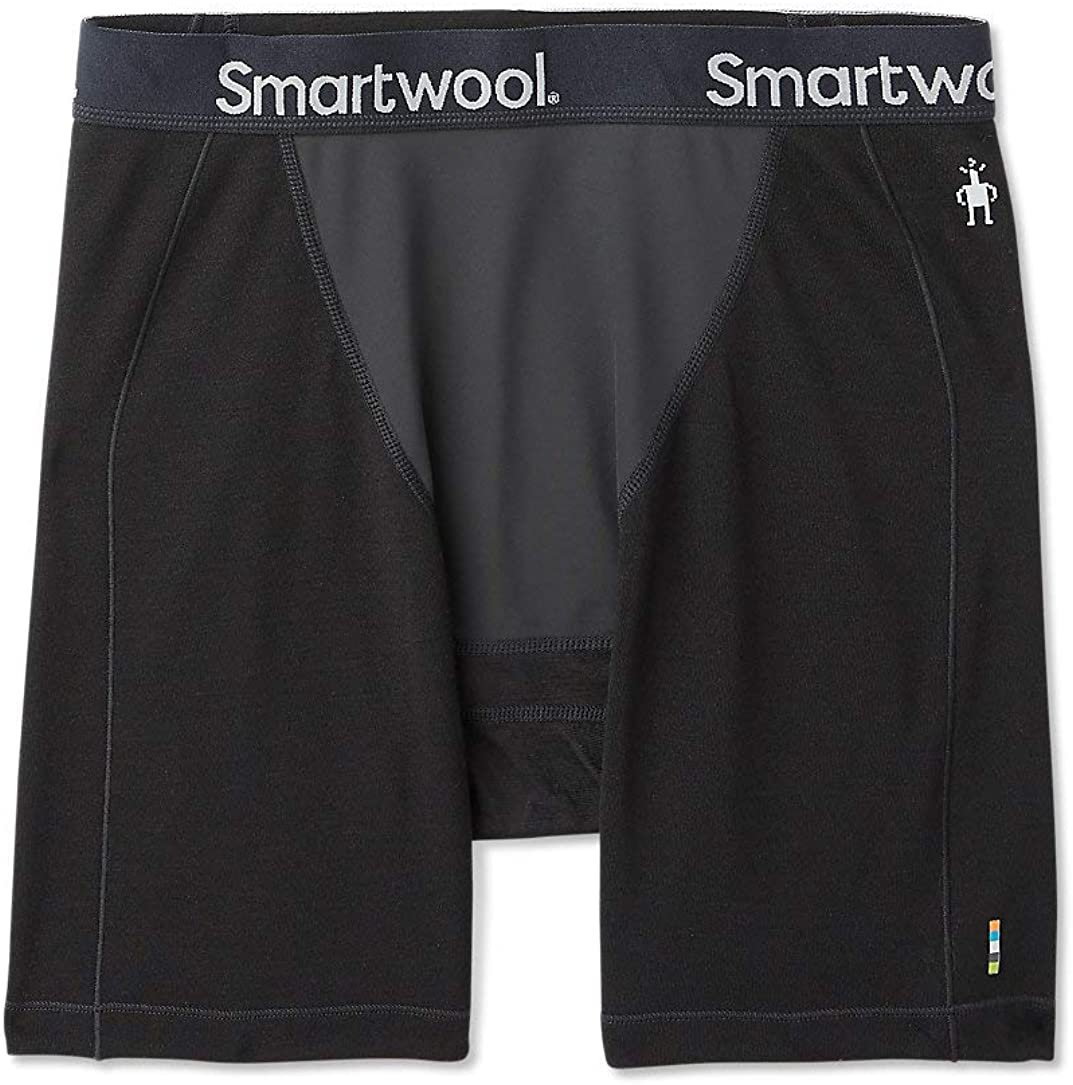 Smartwool Men's Wind Boxer Brief - Merino Sport 250 Breathable Wool Underwear