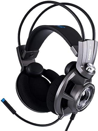 Cuffie Da Gioco Con PS Per PS4 Xbox One PC Nintendo Switch - Cuffie Anti-rumore Surround Noise Cancelling Cuffie Bass Controllo Volume Stereo Per PC Gamers - Trova i prezzi più bassi