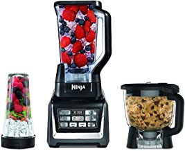Nutri Ninja Blender Kitchen System with Auto-iQ and Powerful 1200 Watt Motor Base XL 72oz Total Crushing Pitcher and 8-Cup...