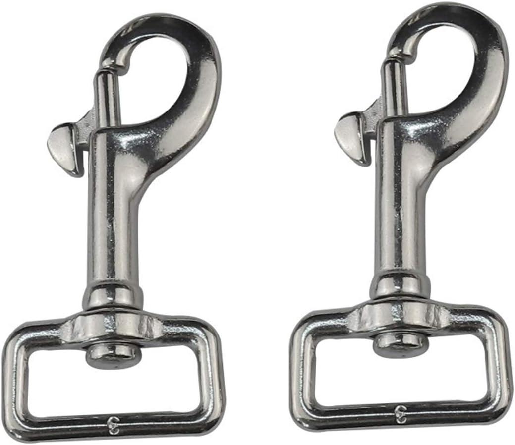 online shop ZSPPPP 2PCS 316 cheap Stainless Steel Swivel Diving Hook Snap Trigger