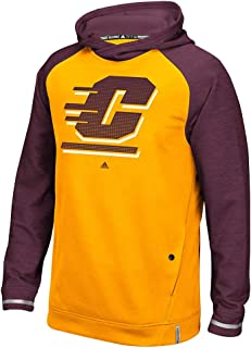 adidas Central Michigan Chippewas NCAA Men's Gold Sideline Climawarm Performance Player Hoodie