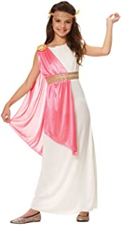 Costume Culture Girl's Roman Empress Costume, Ivory, Large