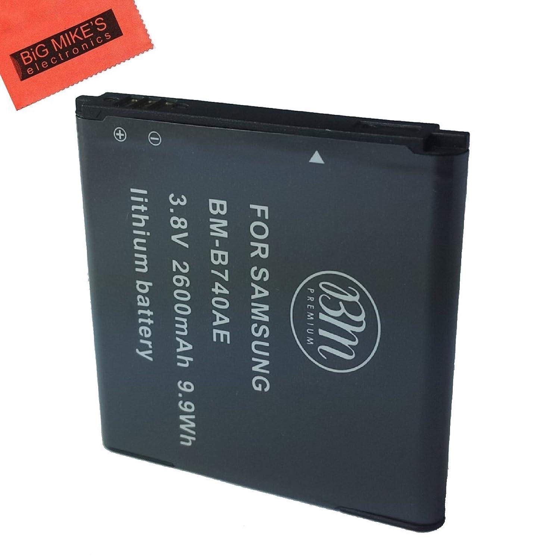 BM Premium B740AE Battery for Samsung Galaxy S4 Zoom, NX3000, NX3300, NX Mini Digital Camera + More!!