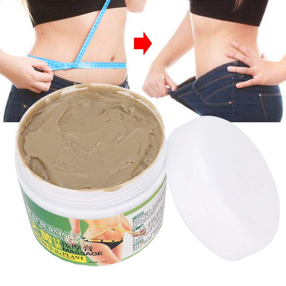 300g Cellulite Hot Cream, Fat Burner Slimming Cream Massage Anti-Cellulite Slimming Serum Fat Burner Massage Cream for Whole Body Weight Loss Slim Extreme Firming Abdomen