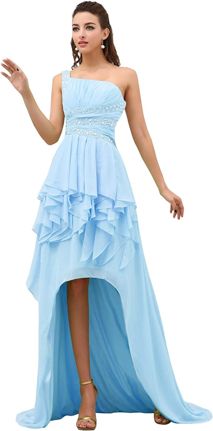 Dora Bridal Women′s Hi Low Prom Party Evening Formal Dresses