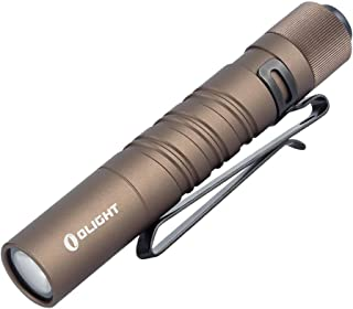 OLIGHT I3T EOS - Mini linterna LED (180 lúmenes, solo 39 g,
