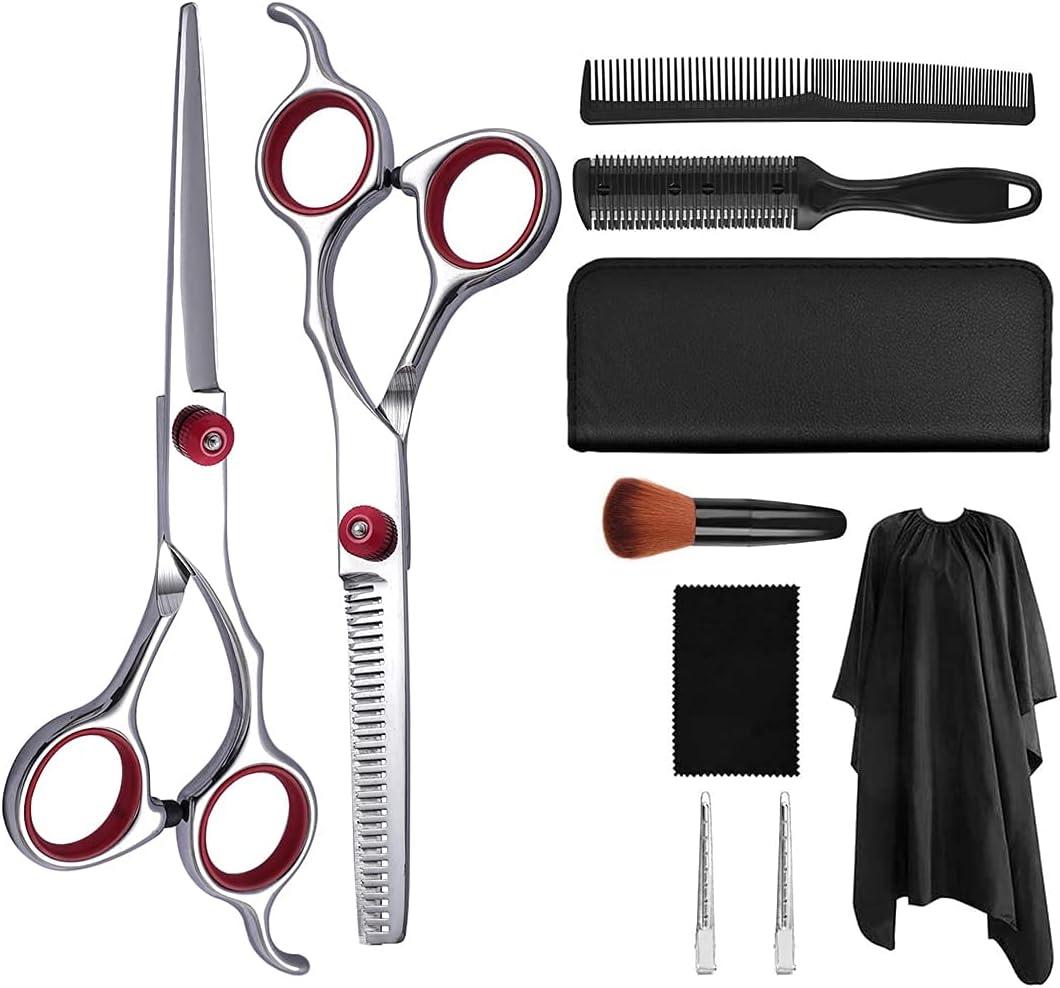 WFSH Industry No. 1 Fees free Pet Hair Trimming Set pet 10-Piece Scissors