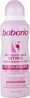 Babaria Desodorante Íntimo en Spray sin Alcohol 150ml