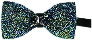 Men's Pre-tied Rhinestones Crystal Shining Luxury Bow Ties-Multicolor