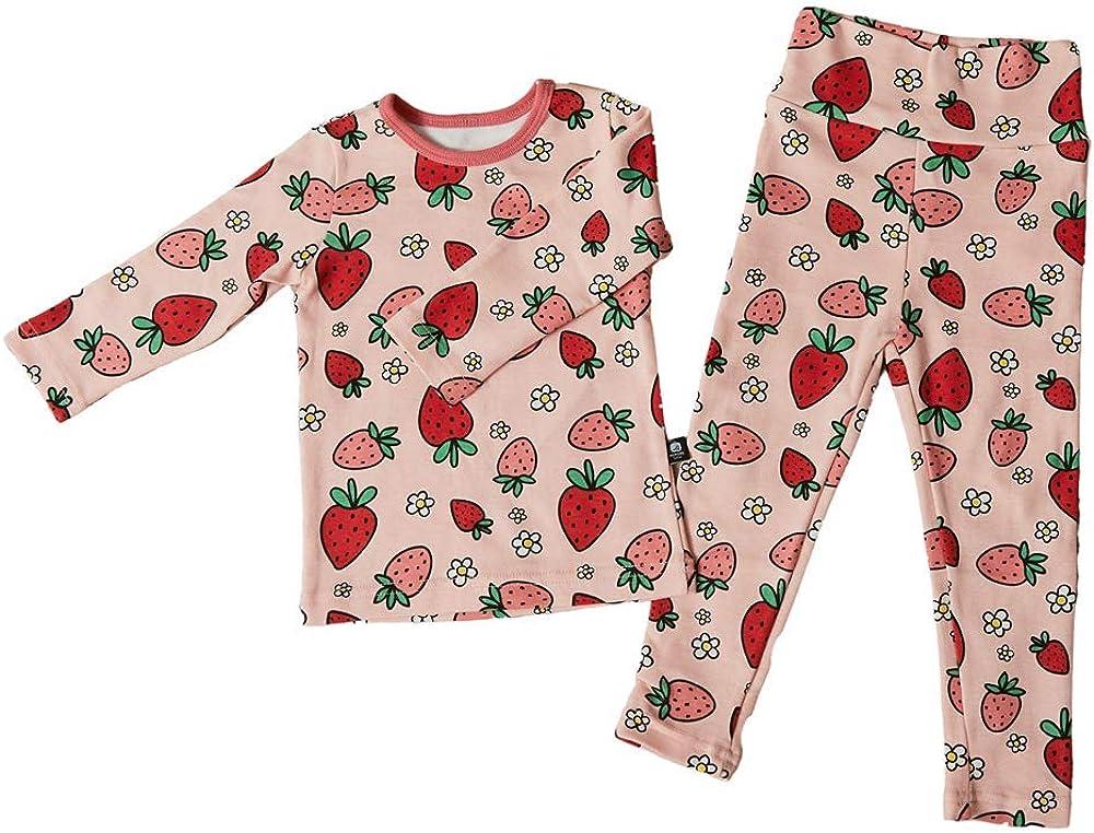 ROTOTO bebe Newborn Baby Boys Girls Unisex Snug-Fit Pajamas Long Sleeve Sets Pjs