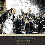 Oliver Twist audiobook cover art