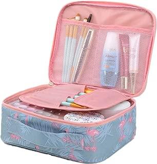 Large-capacity Travel Makeup Cosmetic Bag Travel Shower Bags for Women Flamingo