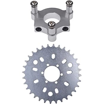 "36T Sprocket With 1.5/""Adapter 415 Chain 49cc  80cc 2 Stroke Motorized Bike"
