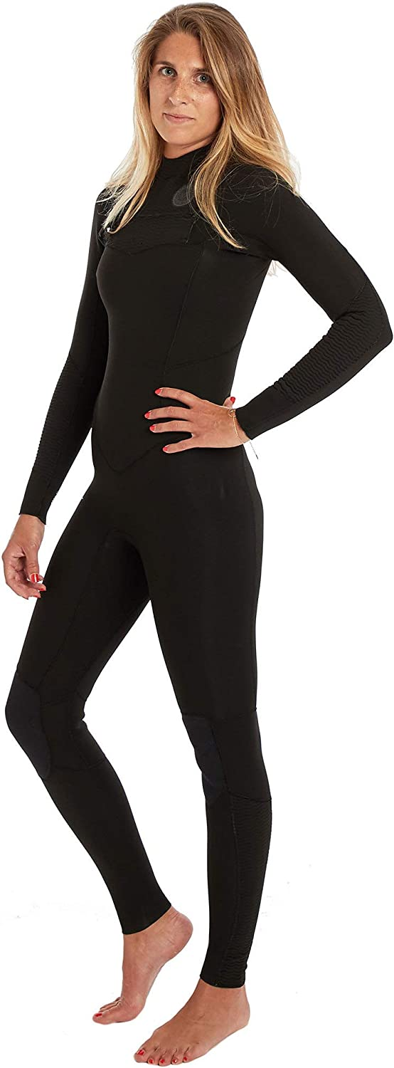 BILLABONG Womens Salty Dayz 3 2mm Chest Zip Wetsuit Wave  Thermal Warm Heat Layer Layers Furnace Lining Easy Stretch