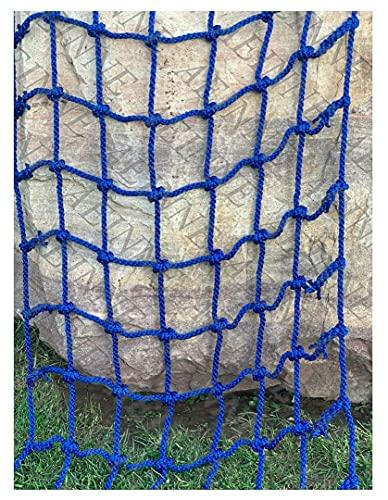 AINUO Red de escalada de nailon, para escalar, para árboles, de seguridad, para juegos y escaleras, para niños (color: 20 cm a 14 mm, tamaño: 3 x 4 m)