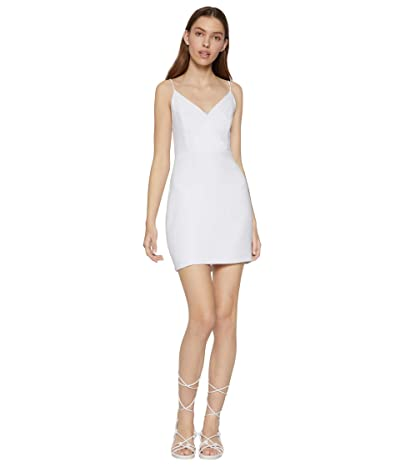BCBGeneration Cocktail Surplice Cami Woven Dress GEF6272037 (Optic White) Women