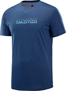 Salomon Men's Agile Graphic Running T-Shirt, Men's