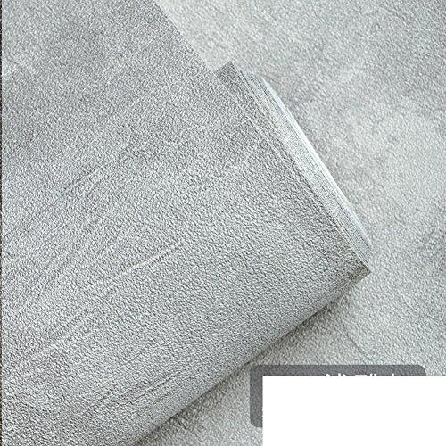DKSC Cement-behang grijs, retro nostalgie wallpaper voor eenvoudige woonkamer bar café kleding winkel industrieel wind behang B