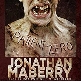 Patient Zero audiobook cover art