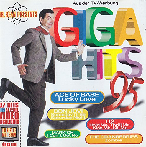 Mr. Bean Hits (CD Compilation, 38 Tracks, Various, Diverse Artists, Künstler) Ace Of Base - Lucky Love / Nightcrawlers - Push The Feeling On / The Outhere Brothers - Boom Boom Boom / Dune - Are You Ready To Fly / Kenny