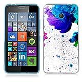 FUBAODA Coque pour Nokia Microsoft Lumia 640, Artistique Série Étui TPU Silicone élégant et Sobre pour Nokia Microsoft Lumia...