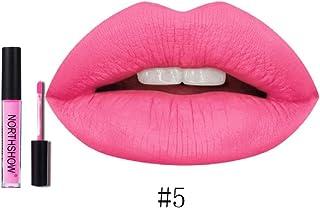 12 Colores Profesional Labial Mate Pintalabios Permanente de Maquillaje Larga Duracion para Niñas por ESAILQ F