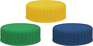 Extra Color Caps for Suncast Commercial Refill Bottles: Green, Blue, Yellow