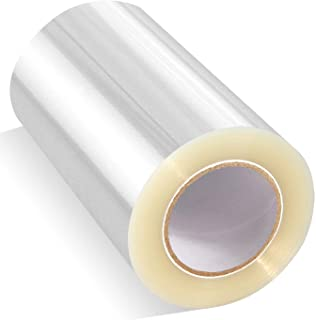 (7.9cm X 1000cm) - Cake Collar, GUGUJI Chocolate Mousse and Cake Decorating Acetate Sheet Clear Acetate ROLL 125 Micron (...