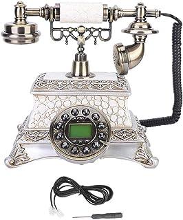 GOTOTOP Desktop Telephone, European Style Classical Vintage Telephone Calls Desktop Telephone Landline