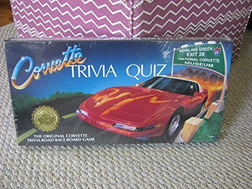 Corvette Trivia Quiz Road Race Game by Bowling Green Kentucky's National Corvette Museum