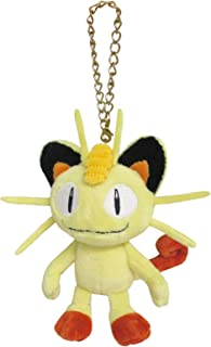 Pocket Monsters Pokemon mascota suave peluche con cadena - PM06 Meowth