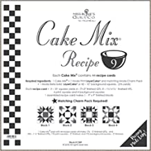 Miss Rosie's Quilt Co - Cake Mix Recipe 9-44 Recipe Cards Each Recipe Card Makes 1-9