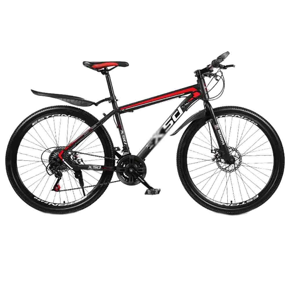 TOOLS Mountain Bike Bicicleta para Joven MTB MTB Adulto Camino de la Bicicleta Bicicletas de la Ciudad Amortiguador Ajustable Velocidad Bicicletas for Hombres y Mujeres de Doble Freno de Disco: Amazon.es: Hogar