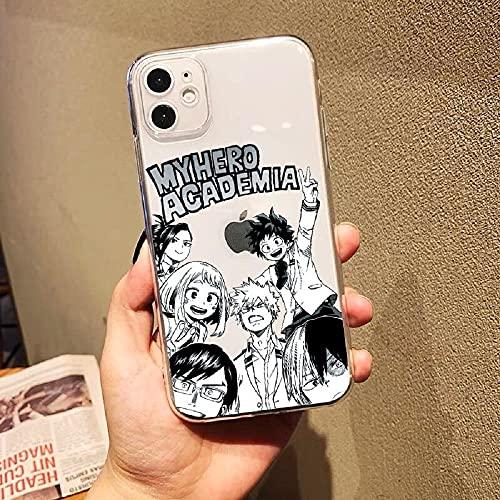 Anime My Hero Academia - Carcasa para iPhone 13 Pro, diseño de Anime Boku no Hero Academia Izuku Dabi iPhone 13 Pro