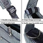 Maxmer Pet Sling Carrier, Dog Sling Bag Shoulder Carry Tote Handbag Dog Travel Carrier Bag for Cat Puppy Kitty Rabbit Bunny 9