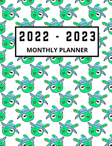 2022 - 2023 Monthly Planner: 2 Year Cute Frog Calendar and Planner | Daily and Weekly Organizer | Chaos Coordinator | Schedule & Agenda Organizer | ... Working from Home, Business or Homeschooling.